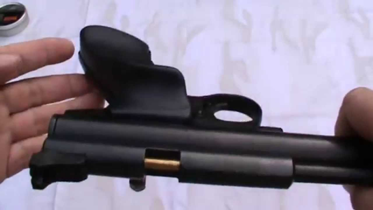 Crosman 2240 co2 pistol with Gmac custom short steel breech by Brutuz62