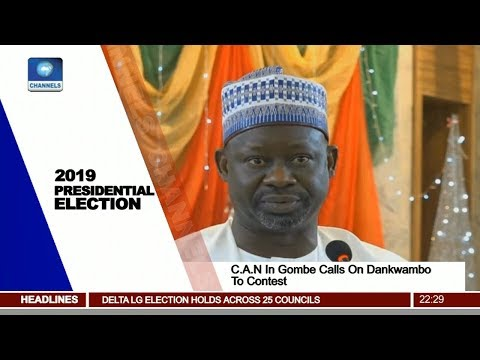 C.A.N In Gombe Calls On Dankwambo To Contest 2019 Presidential Election Pt.2 |News@10| 06/01/18