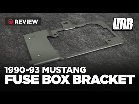 hqdefault 93 ford mustang 5 0 fuse box Mustang Fuse Box Diagram at mr168.co