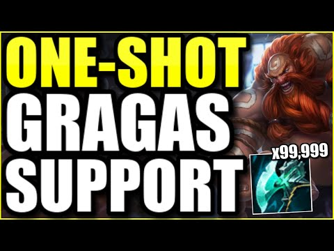 (ABUSE THIS NOW!) THIS FULL AP GRAGAS SUPPORT IS 1000% BROKEN IN SEASON 11 – League of Legends