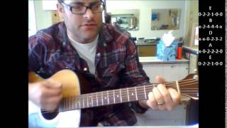 "How to play ""Only God knows Why"" by Kid Rock on acoustic guitar"