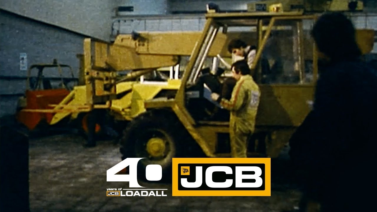 JCB the launch of Loadall - Celebrating 40 Years of Loadall