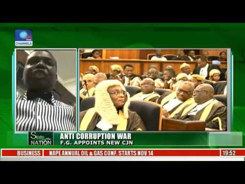 Anti-Corruption War: FG Appoints New CJN