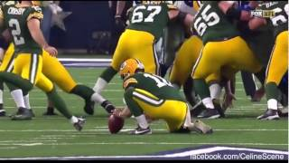 Green Bay Packers to NFC Championship ft. Celine Dion