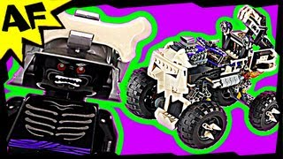 Lord Garmadon & SKULL TRUCK 2506 Lego Ninjago Stop Motion Set Review