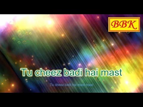 Cheez Badi Song With Lyrics | Machine | Mustafa & Kiara Advani | Udit Narayan & Neha Kakkar |