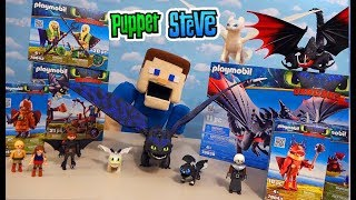 How Train Your Dragon 3 MOVIE TOYS! Complete Playmobil Figure Line!