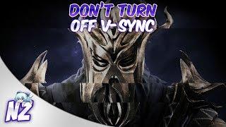 Skyrim - Vsync off & 250+ FPS = Madness