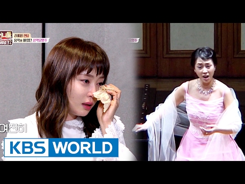 Kang Ye-won who gave up music, tears up [Sister's Slam Dunk Season2 / 2017.02.17]