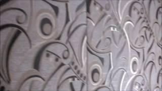 видео Обивка стен тканью своими руками: популярные методы драпировки