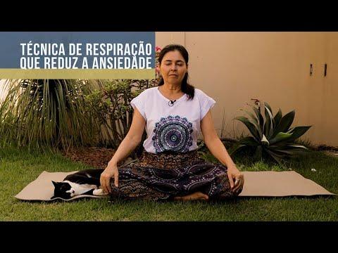Técnica de respiração que reduz a ansiedade