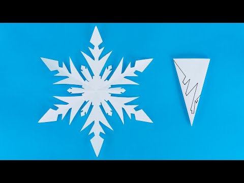 DIY Paper Snowflakes   How To Make Snowflakes Out Of Paper   Christmas Decoration Ideas