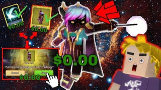 How to Become God Of Galaxy in Bedwars | Bedwars Blockman go