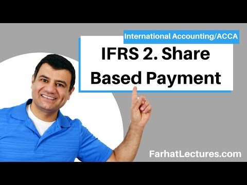 IFRS 2 | Share Based Payment | IFRS Lectures | ACCA Exam | International Accounting Course