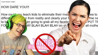 mother gets ANGRY over Yandere Simulator! (Reaction) - Angry emails from parents
