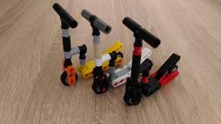 Как сделать фингер самокат из лего!/How to make a finger scooter by lego!