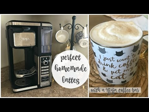 EASY HOMEMADE LATTES | Ninja Coffee Bar | Come Home For Comfort