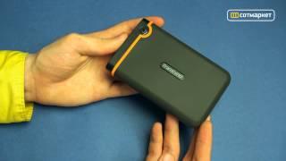 Видео обзор внешнего накопителя Transcend StoreJet 25M2 1000GB TS1TSJ25M2 от Сотмаркета