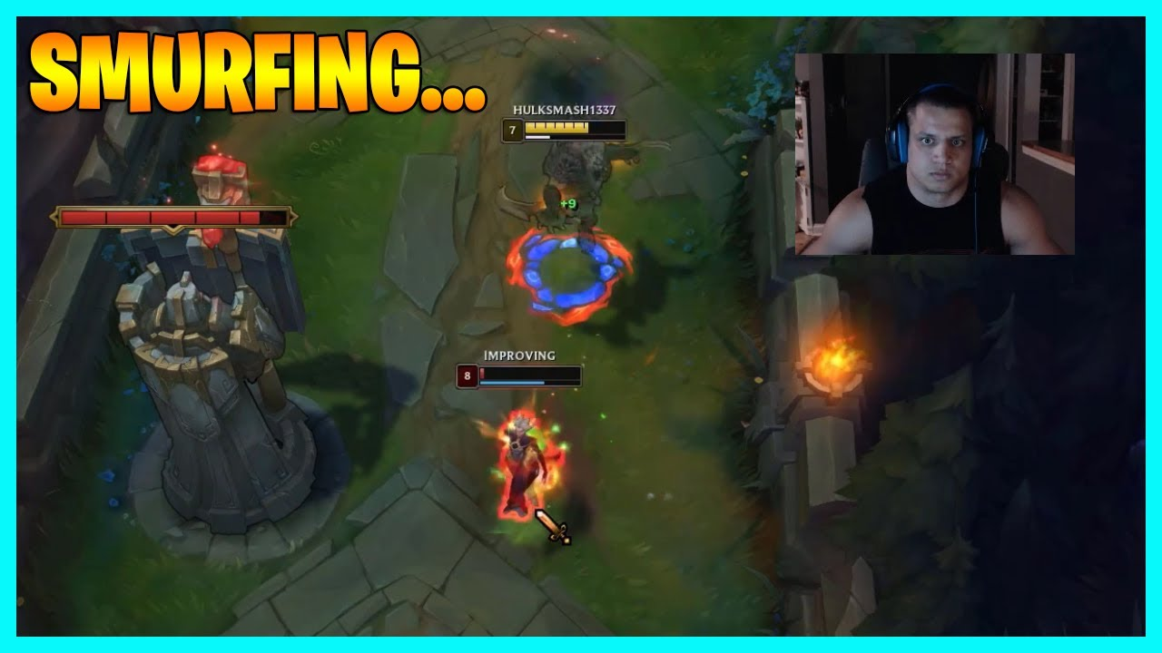 Tyler1's smurfing in challenger!..LoL Daily Moments Ep 1529