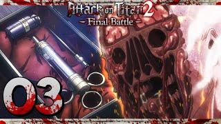 TITANENSERUM & ROD, DER KRIECHENDE TITAN! ⚔️ #03 • LET'S PLAY | Attack on Titan 2: Final Battle