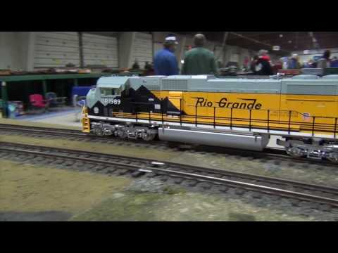 Big  G-Gauge Trains at Amherst Railroad Hobby Show 2017