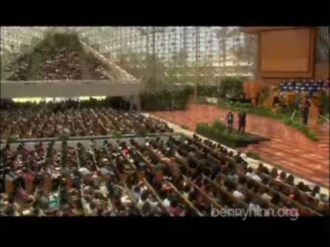 Benny Hinn from the Crystal Cathedral