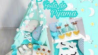 DIY Festa do Pijama – Cabana com cabos de vassoura e mais ideias
