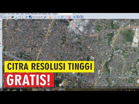 Download Citra Satelit Resolusi Tinggi : Google Earth, Google Maps, Nokia Satelit, dll
