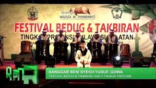 Festival Bedug & Takbiran 1436 H - Sanggar Seni Syekh Yusuf Gowa