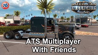 🔴 ATS 1.35 - MP Convoy Fun With Friends. LIVE STREAM 2019 🔴