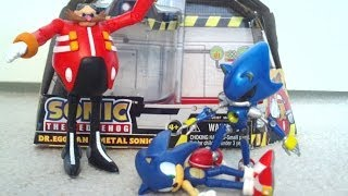 Dr.Eggman and Metal Sonic Toy Figure Pack Review (Jazwares)