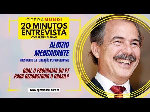 Entrevistando Aloizio Mercadante: