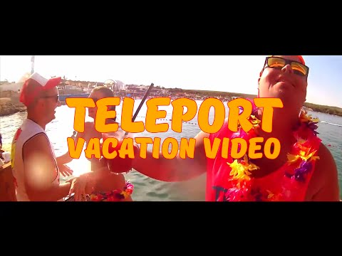 PLEXO & MUGIS - TELEPORT (VACATION VIDEO) + TEXT