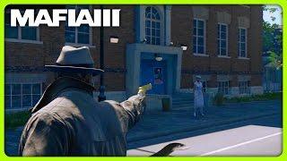MAFIA 3 FREE ROAM - NEW OUTFIT AND GOLDEN GUN (Mafia 3 Funny Moments)