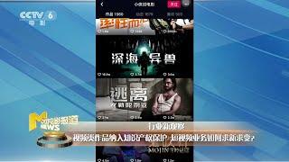 视频类作品纳入知识产权保护 短视频业务如何求新求变? 【中国电影报道   20200429】