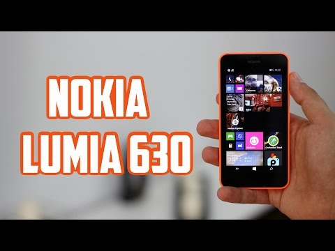 Nokia Lumia 630, Review en español