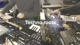 focus ⊙ Techno roots [Liveset with Elektron machines + Virus TI2] + free download Mind-Blow-Version