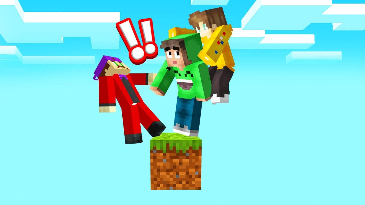 Download SKYBLOCK But It's ONLY ONE BLOCK! (Minecraft)