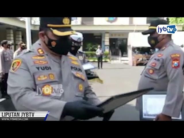 Polisi Berprestasi di Kota Kediri Raih Penghargaan