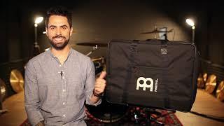 MEINL Percussion - Deluxe Bass Pedal Cajon Bag - MDLXCJB-L