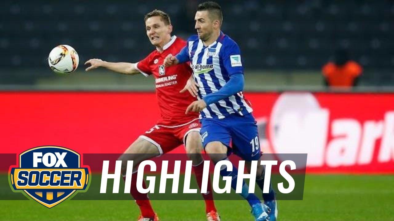 ไฮไลท์  Mainz 05 0 - 0 Hertha Berlin