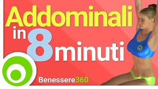 Addominali in 8 Minuti - I Migliori Esercizi per un Addome Scolpito
