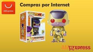 Unboxing Aliexpress Andquotfunko Pop Golden Frieza Sdcc Ojos Rojos Exclusiveandquot
