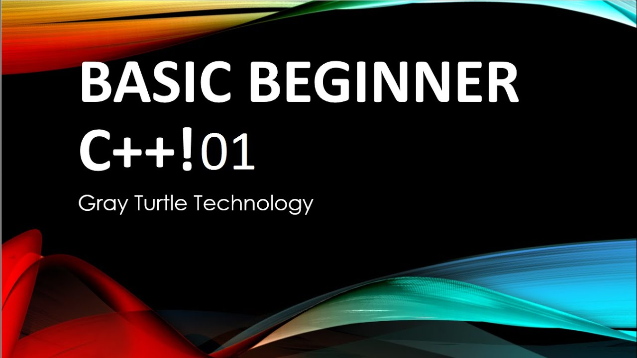 Basic Beginner C++ Tutorial Videos