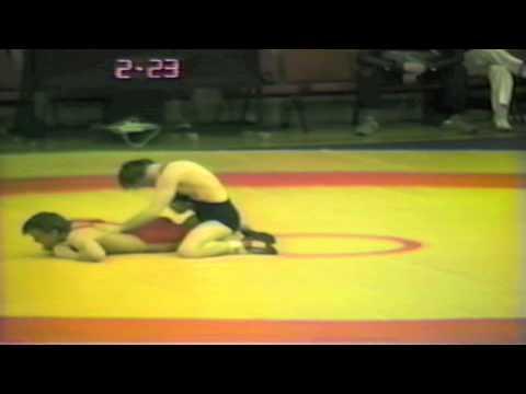 1988 Senior European Championships: 52 kg Vesa Maeki-Turja (FIN) vs. Hebert Tutsch (FRG)