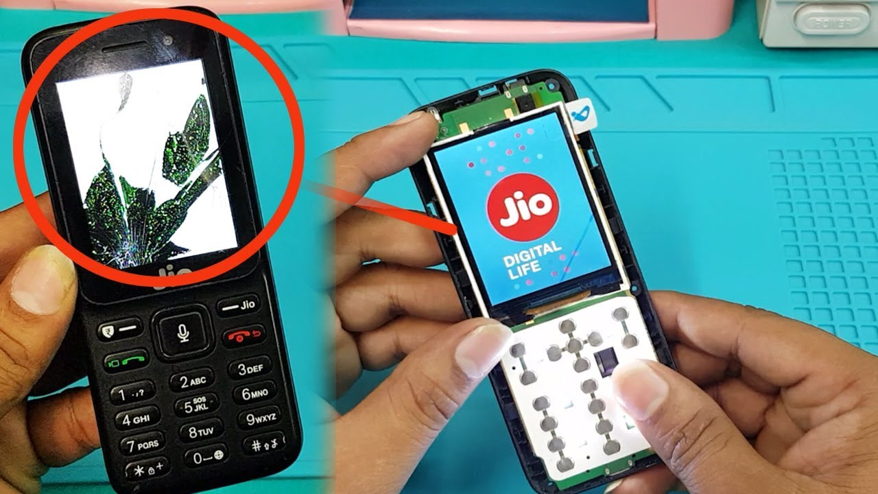 cheap for discount 7281a 4fe09 Jio Keypad Mobile LCD Screen Replacement