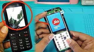 Jio Keypad Mobile LCD Screen Replacement ||