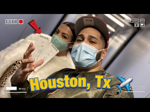 Flying To Houston,TX For The First Time✈️😱 (Amazing) *MUST WATCH*
