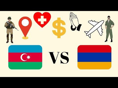 Azerbaijan vs Armenia: Economy, Religion, Human Development Index, Democracy and Tourism Compared