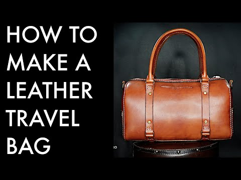 How To Make A Large Travel Bag - Tutorial And Pattern Download